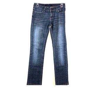 Zara Jeans Blue Straight leg Size 2 Denim Pants